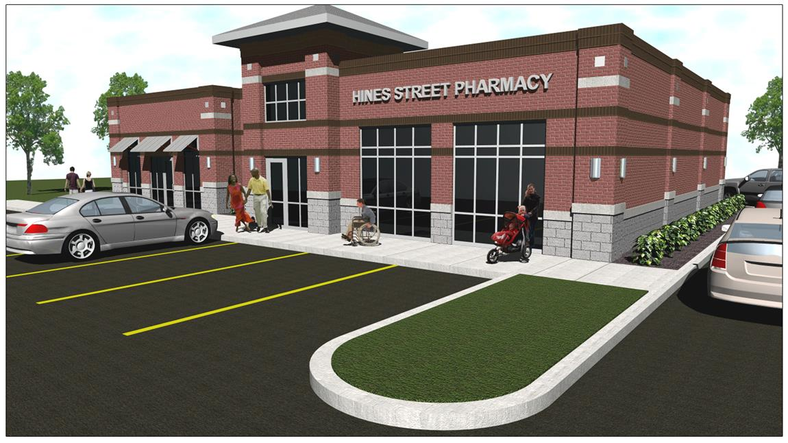 Retail Building Design - Hines Street Pharmacy