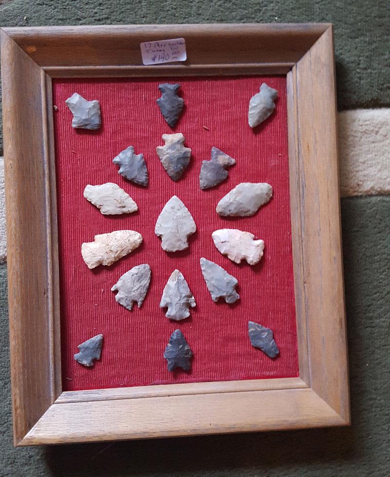 arrowhead collection missouri engler collection frame 11