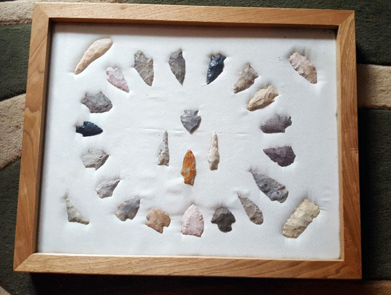 arrowhead collection missouri engler collection frame 1