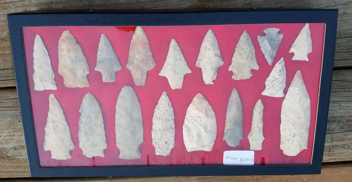 Arrowhead Collection from Missouri Frame 1