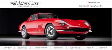 Automotive Websites Springfield Missouri