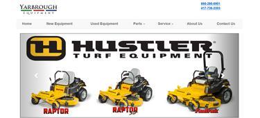 Yarbrough Equipment Website